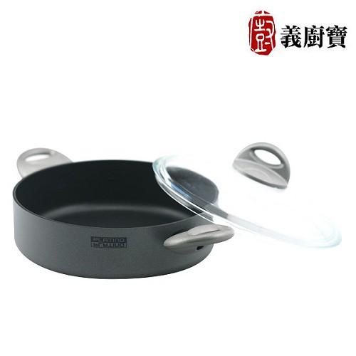《義廚寶》白金系列-雙耳湯鍋24cm   1B32424