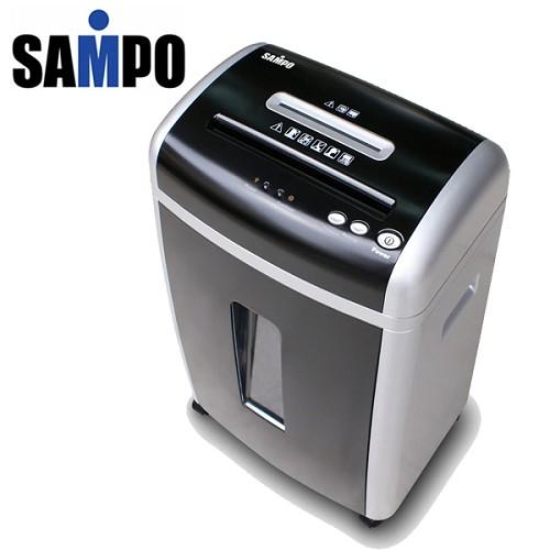 A0768 《SAMPO》雙入口短碎式多功能專業碎紙機 CB-U8082SL