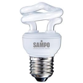 A0768《SAMPO》聲寶5W螺旋省電燈泡-白光LB-U05SD