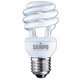A0768《SAMPO》聲寶12W螺旋省電燈泡-白光 LB-U12SD