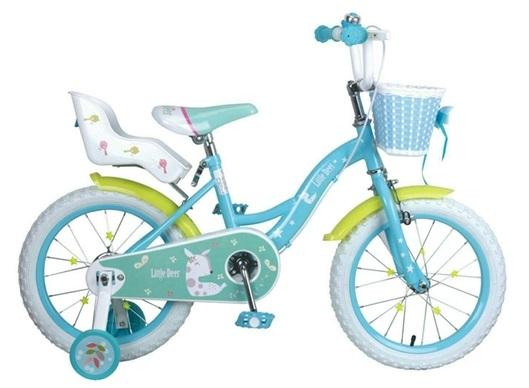 【淘氣寶寶】【CHING-CHING親親】16吋艾比鹿腳踏車 藍 (SX200)