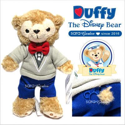 免運贈購物袋 正版 迪士尼 Disney 達菲 達菲熊 Duffy 絨毛 玩偶 娃娃 玩具 吸磁 香港 限定 英倫風