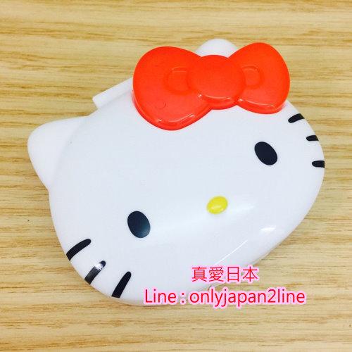 【真愛日本】16091400035 頭型造型四格收納盒-KT紅結  三麗鷗 Hello Kitty 凱蒂貓   收納盒  置物  日用品