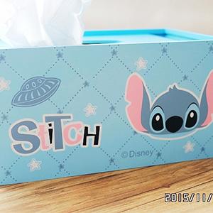 美麗大街【104112419】史迪奇 面紙巾 抽取式衛生紙盒