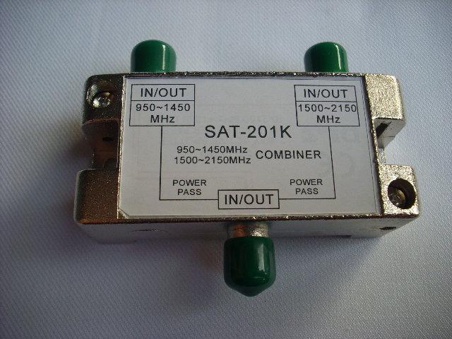 有線電視器材&衛星天線 雙衛星混頻器