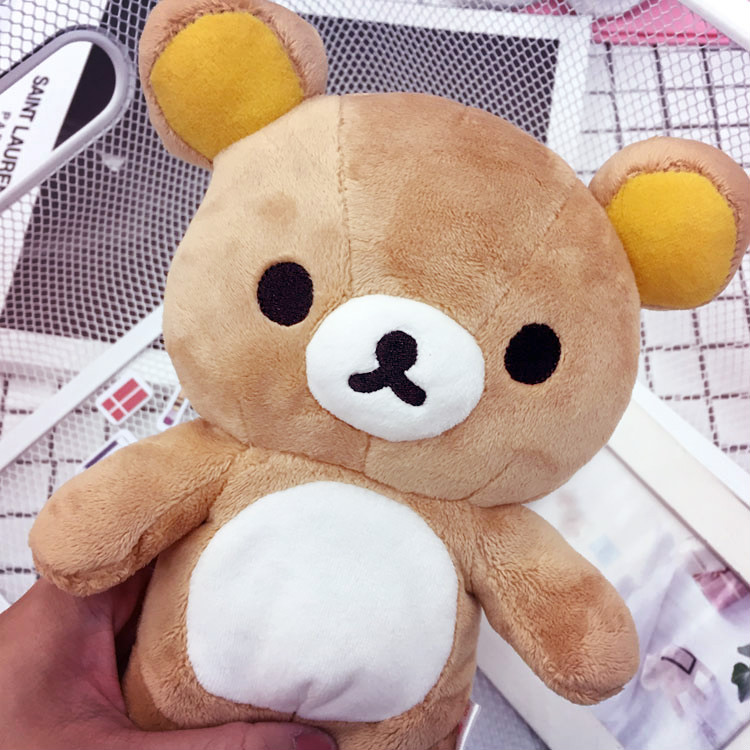 PGS7 (現貨+預購) 日本卡通系列商品 - 拉拉熊 22公分 絨毛娃娃 娃娃 公仔 玩偶 拉拉雄 懶懶熊 鬆弛熊