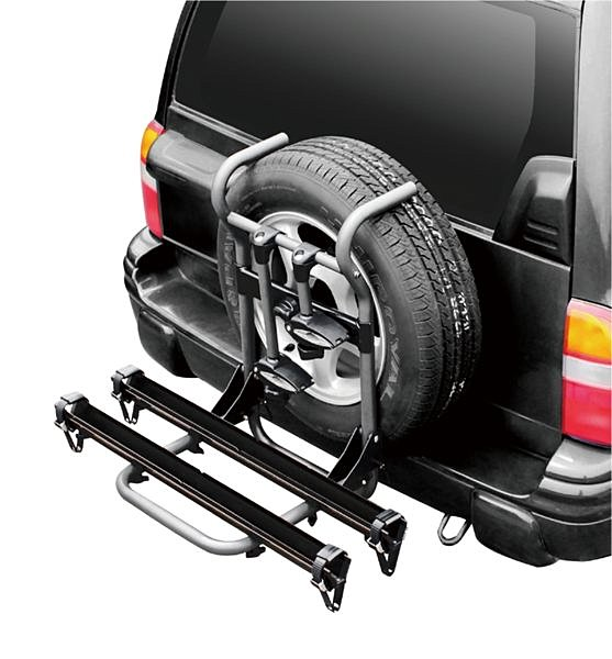 【露營趣】安坑特價 BNB RACK 熊牌 BC-8402-2S 鋁合金滑槽式備胎攜車架 腳踏車架 附鎖ARTC合法認證