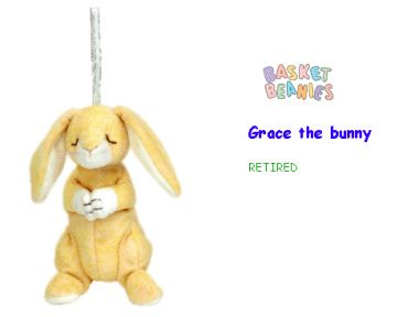 grace 可爱祈祷兔吊饰