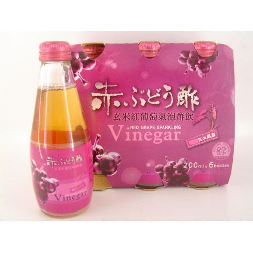 紅葡萄蜂蜜氣泡醋