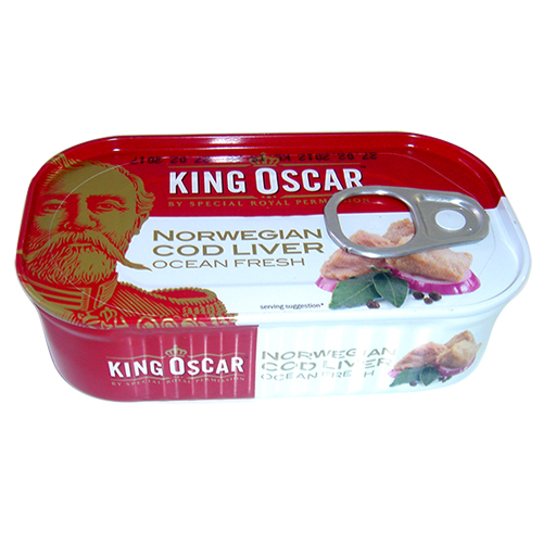 挪威King Oscar 鱈魚嫩肝