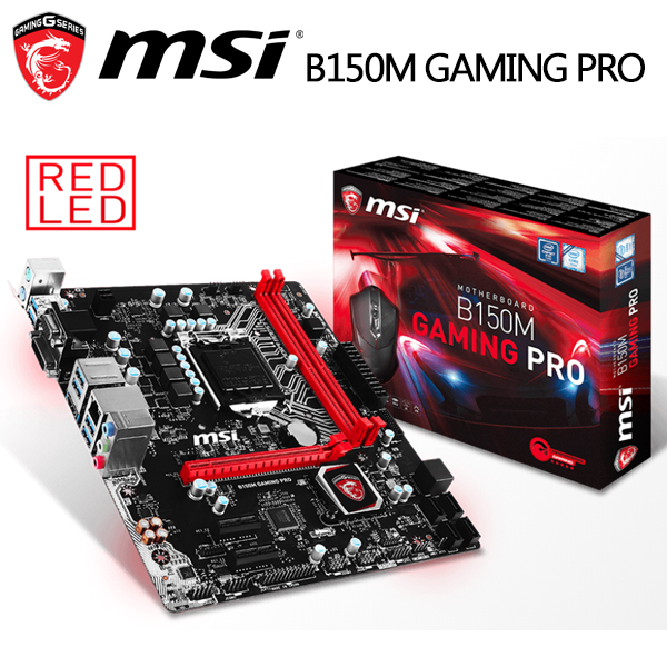 msi 微星 B150M GAMING PRO主機板(DDR4)