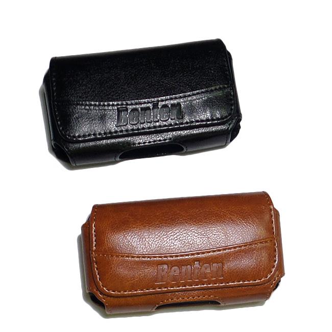 Benten W238/W528/W830/B398/B368老人/銀髮手機--通用型腰掛橫式皮套