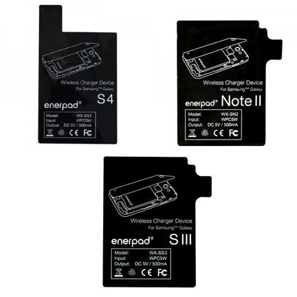 enerpad 無線充電貼片 (for Samsung NOTE 2 N7100 / S3 i9300 / S4 i9500) (聯強代理)