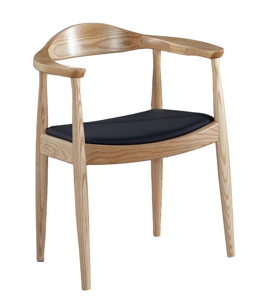 【石川家居】JF-485-3 經典原木總統椅-單只 (不含其他商品) 需搭配車趟