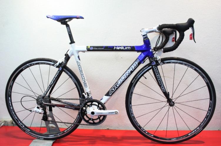 【7號公園自行車】ARGON18 HELIUM 碳纖維公路車