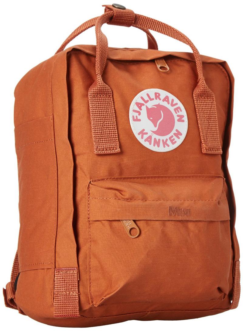【鄉野情戶外專業】 Fjallraven |瑞典|  小狐狸 Kanken Mini 方型書包 方型背包 後背包 (磚紅色) _23561