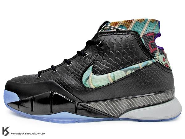 2013 NBA 限量發售 大師之路 NIKE ZOOM KOBE I 1 PRELUDE 黑蛇紋 黑曼巴 冰底 藝術 Kobe Bryant 首款代言 籃球鞋 湖人 81 POINTS (640221-001) !