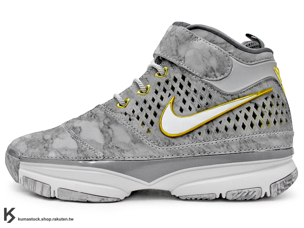 2013 NBA 限量發售 大師之路 NIKE ZOOM KOBE II 2 PRELUDE 大理石 灰白 藝術 Kobe Bryant 代言 籃球鞋 湖人 4/50+ POINTS (640222-001) !