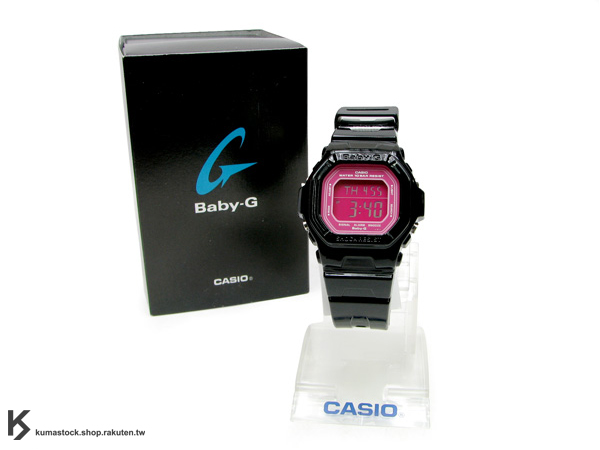 "Kumastock特別入荷 CASIO BABY G-SHOCK "" CANDY COLOR系列 "" Baby-G BG-5601 黑"