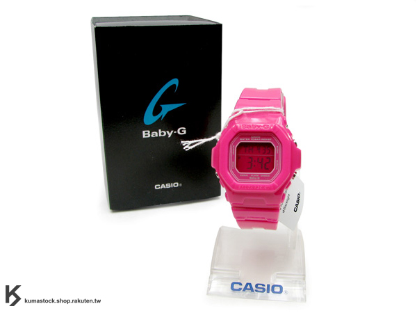 "Kumastock特別入荷 CASIO BABY G-SHOCK "" CANDY COLOR系列 "" Baby-G BG-5601 桃紅"