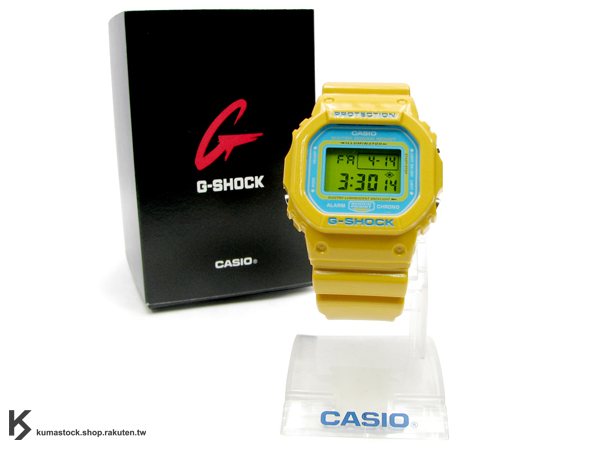 Kumastock特別入荷 不壞經典 CASIO G-SHOCK DW-5600CS 黃色限定錶款