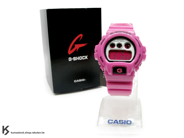 "日劇BUZZER BEATER零秒出手 山下智久著用 CASIO G-SHOCK "" Crazy Color系列 "" DW-6900CS-4  桃紅"