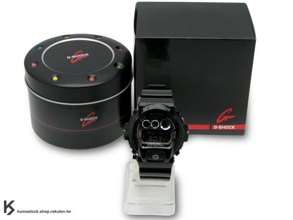 Kumastock最速入荷 2011年春夏新色 耀眼色彩宣告 CASIO G-SHOCK NEW CRAZY COLOR 系列 DW-6900NB-1DR 黑銀 金屬亮面 !