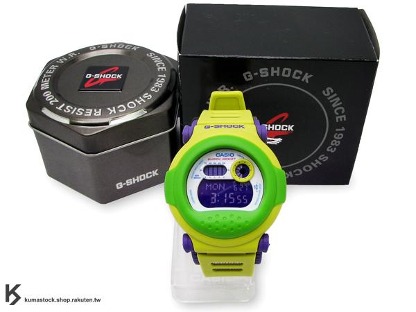 [20% OFF] Kumastock特別入荷 經典復刻款 日本超人氣 CASIO G-SHOCK JASON INTRO G-001HC-3DR 黃綠 橡膠錶帶 !