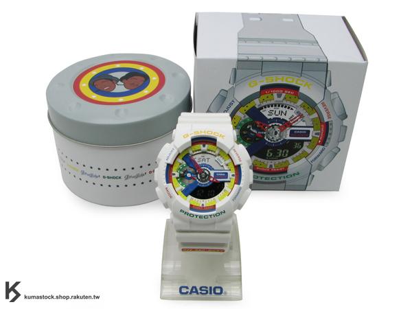 絕跡入荷 2011 第二彈 全球限量發售 CASIO x Dee & Ricky G-SHOCK 2nd 白/彩色 樂高 積木 黑人雙胞胎兄弟 GA-111DR-7ADR !