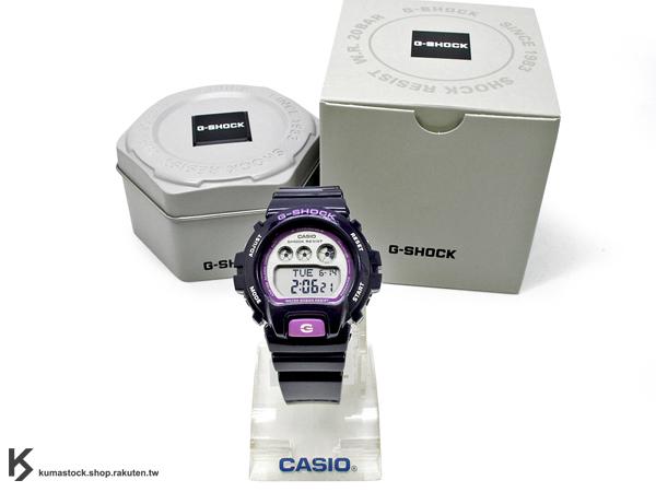 kumastock 2014 最新入荷 46mm 錶徑 貼合女性手腕曲線 CASIO G-SHOCK GMD-S6900CC-2ADR 紫色 葡萄紫 CRAZY COLOR 系列 女孩專用 !