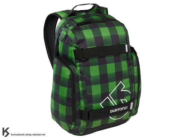 國際知名滑雪運動品牌 專業後背包 可放筆記型電腦 BURTON METALHEAD PACK BACKPACK 26L 後背包 黑綠色 格紋 藤原浩 fragment design (BRTN-267995-969NA) !