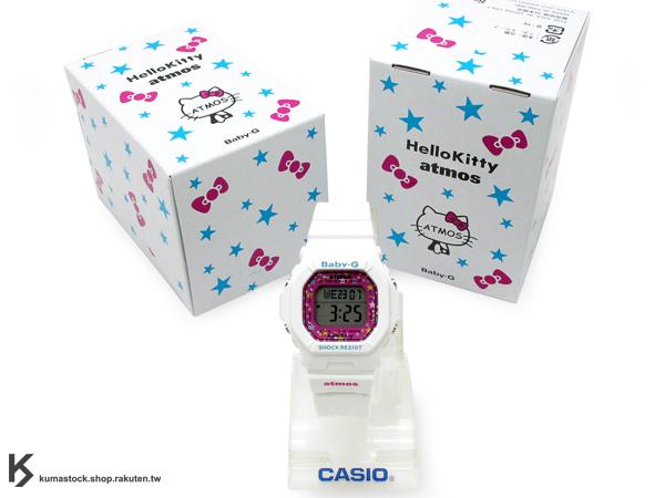 限量發售 限量編號 SANRIO HELLO KITTY x CASIO x atmos BABY-G BG-5600 10 ANNIVERSARY 10周年記念 女錶 白 桃紅 凱蒂貓 G-SHOCK !