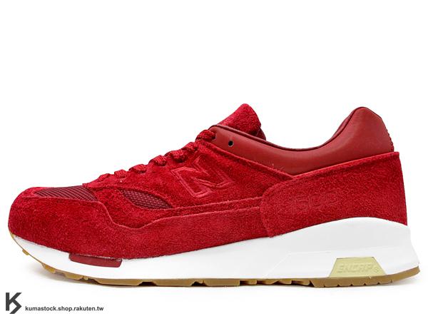 [29cm] 2013 美國 芝加哥 知名鞋舖 Saint Alfred 聯名款 NEW BALANCE CM1500SA 紅色 深紅 麂皮 網布 紅白 膠底 1500 CM1500SA ABZORB 避震科技 (CM1500SA)
