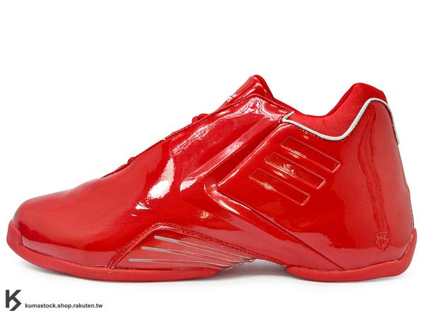 2013 回憶再現 2004年經典名作 美國紐約鞋舖 PACKER SHOES 復刻 全世界 200 雙限定 adidas TMAC 3 ALL-STAR 藍 紅 亮皮 明星賽 Tracy McGrady 代言 TORSION SYSTEM 防扭中樞 T-MAC ALL STAR NBA (D73900) !