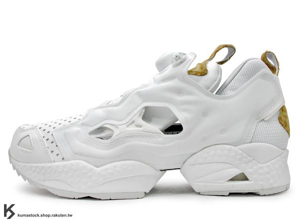 日本限定 限量發售 原宿鞋舖 atmos 提案企畫 Reebok INSTA PUMP FURY LEOPARD 全白 豹紋 星星 白豹紋 (J97934) !