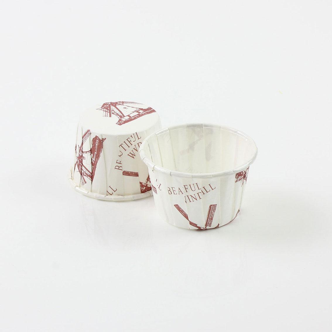 瑪芬杯、杯子蛋糕、捲口杯 PET3830-01 風車(100pcs/包)