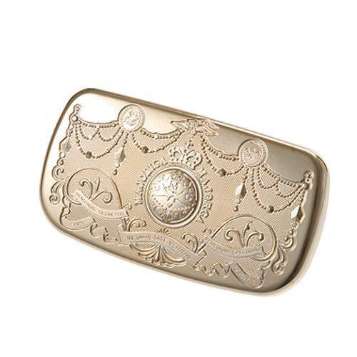 日本原裝~資生堂 Majolica 戀愛魔鏡 『金色蜜粉盒/粉餅盒』
