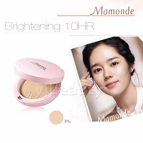 韓國原裝~ AMORE / MAMONDE『 10H長效水潤保濕粉餅組 』21號自然膚色-(HERA同公司