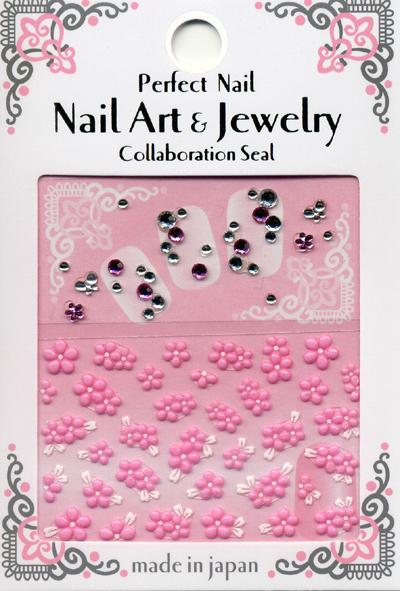 日本製  3D 水晶立體指甲貼紙 / RSS-22『 3D Rubber Art Jewelry Stones 』 造型貼紙/手機造型貼紙