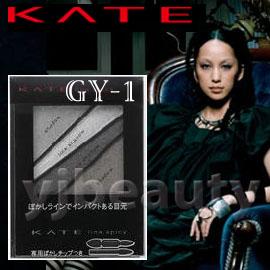 特價產品 / KANEBO 佳麗寶 KATE凱婷 『極耀叛逆四色眼影盒』GY-1(灰色系)--中島美嘉代言
