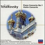 【小閔的古典音樂世界】DECCA 黎奇(Ruggiero Ricci) & 波絲妮可娃(Victoria Postnikova) & 羅傑斯特汶斯基(Gennady Rozhdestvensky)/柴可夫斯基:鋼琴協奏曲第1號、小提琴協奏曲[Tchaikovsky:Piano Concerto No.1、Violin Concerto]【1CD】