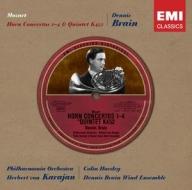【小閔的古典音樂世界】EMI Classics Historical 布萊恩(Dennis Brain)/莫札特:法國號協奏曲1-4號(Mozart: Horn Concertos 1-4)【1CD】