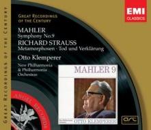 【小閔的古典音樂世界】EMI GROC世紀原音系列190-克倫培勒(Klemperer)/馬勒:第九號交響曲;理查.史特勞斯:變形、死與變容(Mahler:Symphony no.9;R. Strauss:Metamophosen, Tod und Verklarung)【2CDs】