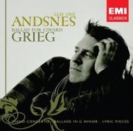 【小閔的古典音樂世界】EMI 安斯涅(Leif Ove Andsnes)、楊頌斯(Mariss Jansons)/葛利格的抒情詩篇─鋼琴協奏曲、敘事曲、六首抒情小品[Ballad for Edvard Grieg]【1CD】