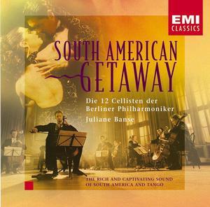 EMI 柏林愛樂12把大提琴(Die 12 Cellisten der Berliner Philharmoniker)/南美洲大逃亡[South American Getaway]【1CD】