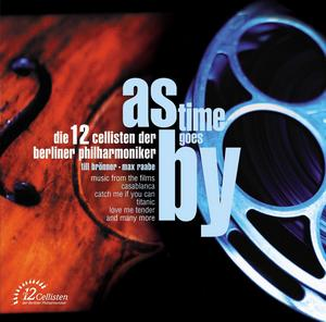 EMI 柏林愛樂12把大提琴(Die 12 Cellisten der Berliner Philharmoniker)/時光飛逝 - 2004電影配樂專輯[As Time Goes By]【1CD】