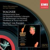 EMI GROC世紀原音系列137-卡拉揚(Herbert von Karajan)指揮柏林愛樂與德意志歌劇院合唱團/卡拉揚的華格納經典(Wagner:Orchestral Music)【1CD】