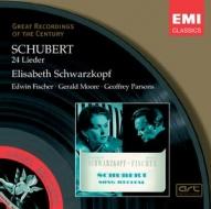 EMI GROC世紀原音系列135-舒娃茲柯芙(Elisabeth Schwarzkopf)、費雪.狄斯考、傑拉德.摩爾、傑夫瑞帕森斯/舒娃茲柯芙的舒伯特藝術歌曲之夜(Schubert:Lieder)【1CD】