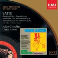 EMI GROC世紀原音系列56-契可里尼(Aldo Ciccolini)/薩提:鋼琴作品集(傑美諾培第曲)(Satie:Best of Piano Music)【1CD】