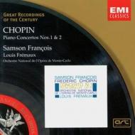 EMI GROC世紀原音系列57-富蘭梭瓦(Samson Francois)/蕭邦:第一、二號鋼琴協奏曲(Chopin:Piano Concertos Nos.1 & 2)【1CD】